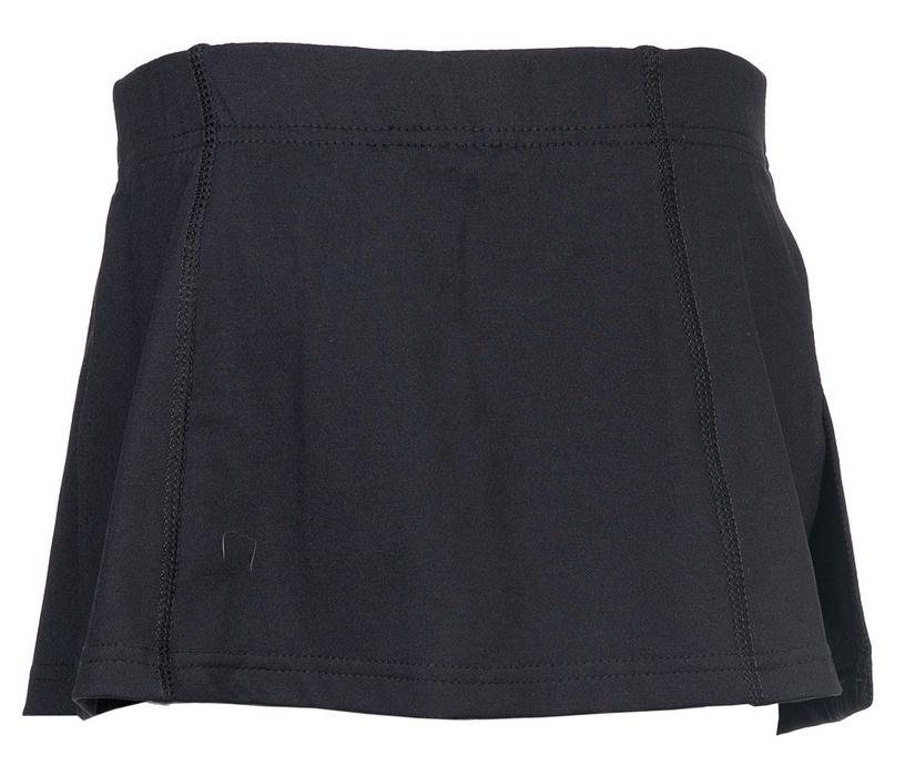 Bars Womens Tennis Skirt Black 16 134cm