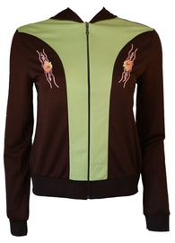 Bars Womens Sport Jacket Brown/Green 132 XL