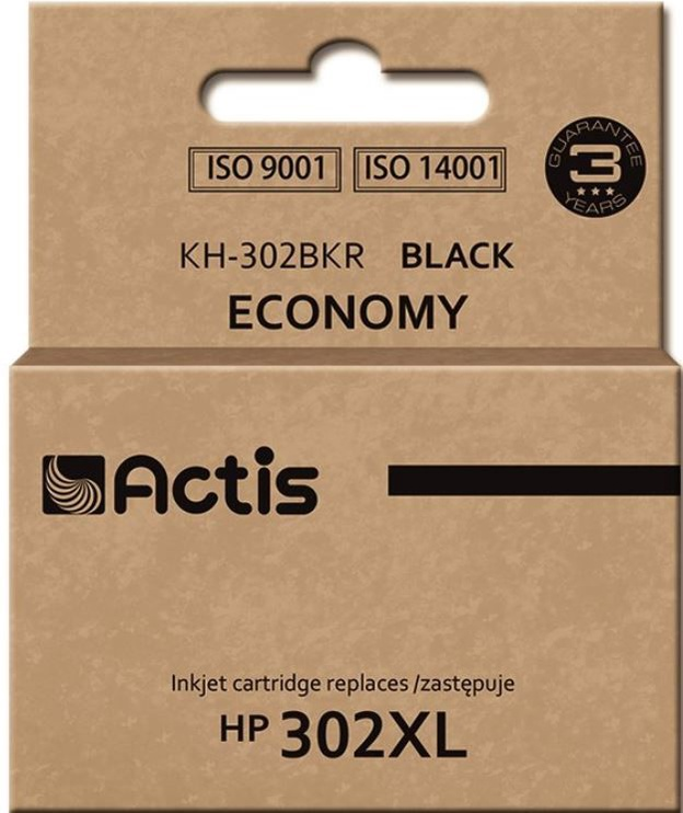 Actis Cartridge KH-302BKR For HP 21ml Black