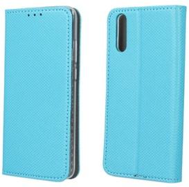 TakeMe Smart Magnetic Fix Book Case For Samsung Galaxy J4 Plus J415 Light Blue