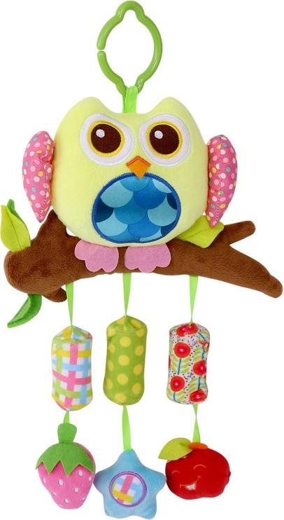 Lorelli Plush Toy Campanula Owl Yellow