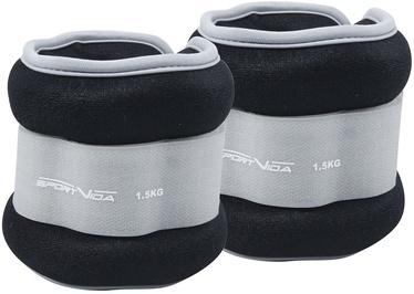 Universālie svari SportVida Ergo Fit Weight Set 1.5kg Gray