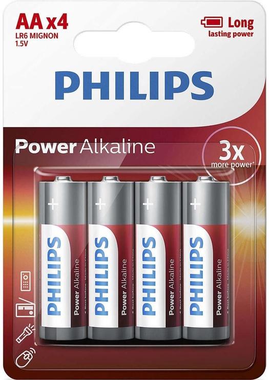 Philips Power Alkaline AA 4x