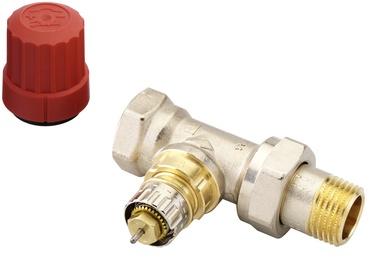 Клапан радиатора Danfoss, прямой/термостатный, для отопительных систем