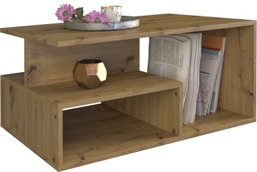 Журнальный столик Top E Shop Prima Artisan Oak, 900x510x430 мм