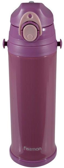 Fissman Travel Mug With Handle 720ml Violet 9728