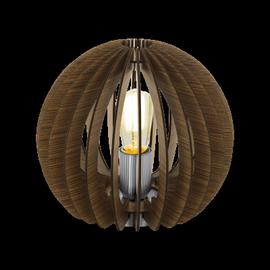 Eglo Cossano 94956 Table Lamp 60W E27 Brown