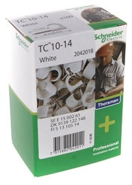 Schneider Electric Cable Clamps 10-14 White 100pcs