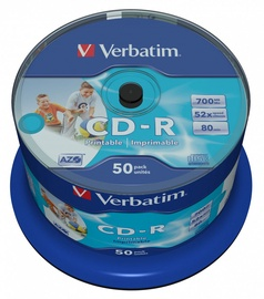 Verbatim CD-R 700MB 50pcs 43438