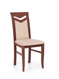 Ēdamistabas krēsls Halmar Citrone Antique Cherry/Mesh 1
