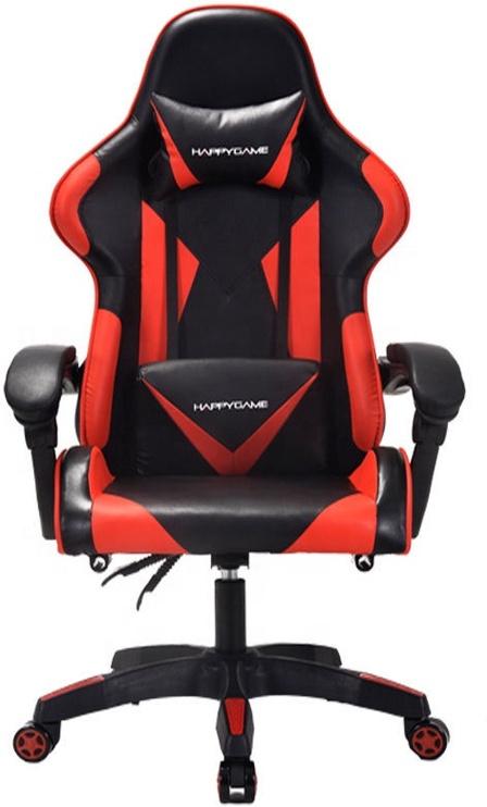 Spēļu krēsls Happygame 7911, sarkana