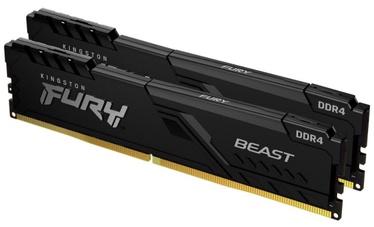 Оперативная память (RAM) Kingston Fury Beast DDR4 16 GB CL16 2666 MHz