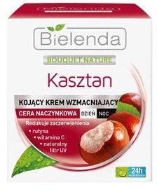 Bielenda Bouquet Nature Chestnut Capillary Strengthening Day/Night Cream 50ml
