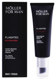 Крем для лица Anne Möller For Man Flashtec Moisturizing Detox Gel Cream, 50 мл