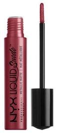Lūpu krāsa NYX Liquid Suede Metallic Matte Modern Maven