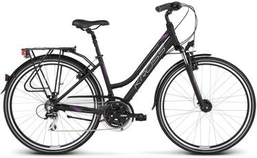 "Kross Trans 3.0 L 28"" Black Violet Silver Matte 20"