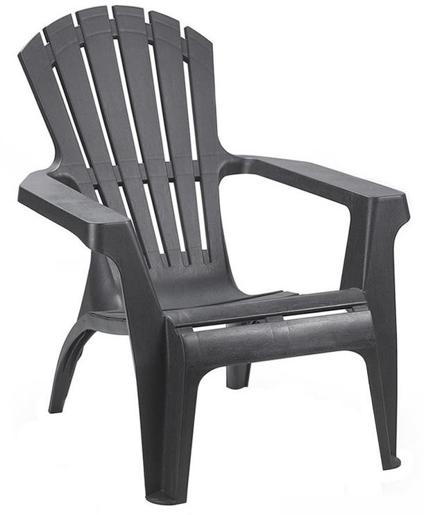 Dārza krēsls Diana Dolomiti, pelēka, 75x86x86 cm