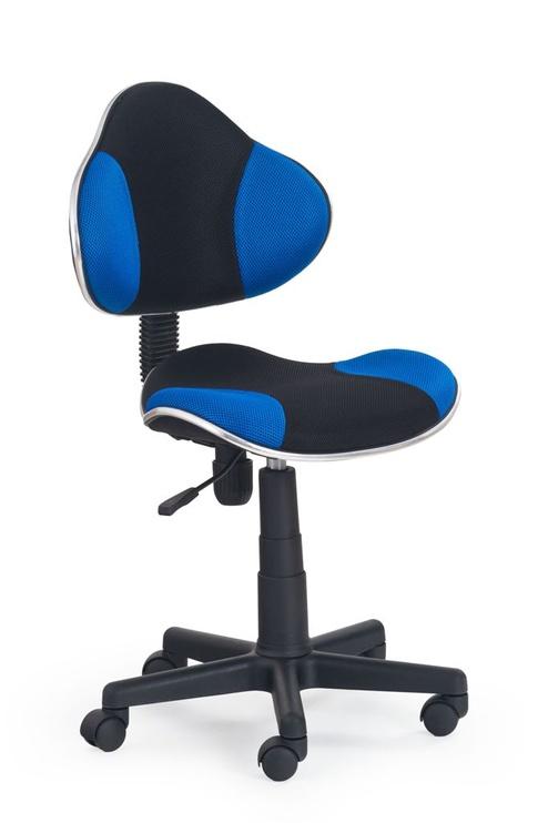 Halmar Chair Flash Black/Blue