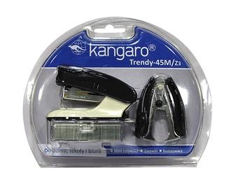 SN Kangaro Stapler And Staple Remover Set Black