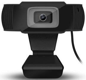 Web kamera DUXO WEBCAM-X13B, melna, CMOS