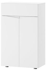 Apavu plaukts Szynaka Meble Lucca 07 White, 620x380x1020 mm
