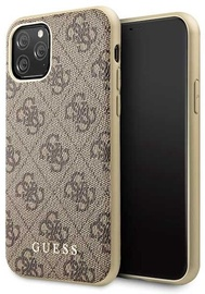 Guess 4G Collection Back Case For Apple iPhone 11 Pro Brown