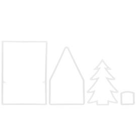Форма для выпечки Maku Gingerbread Form Set 4pcs