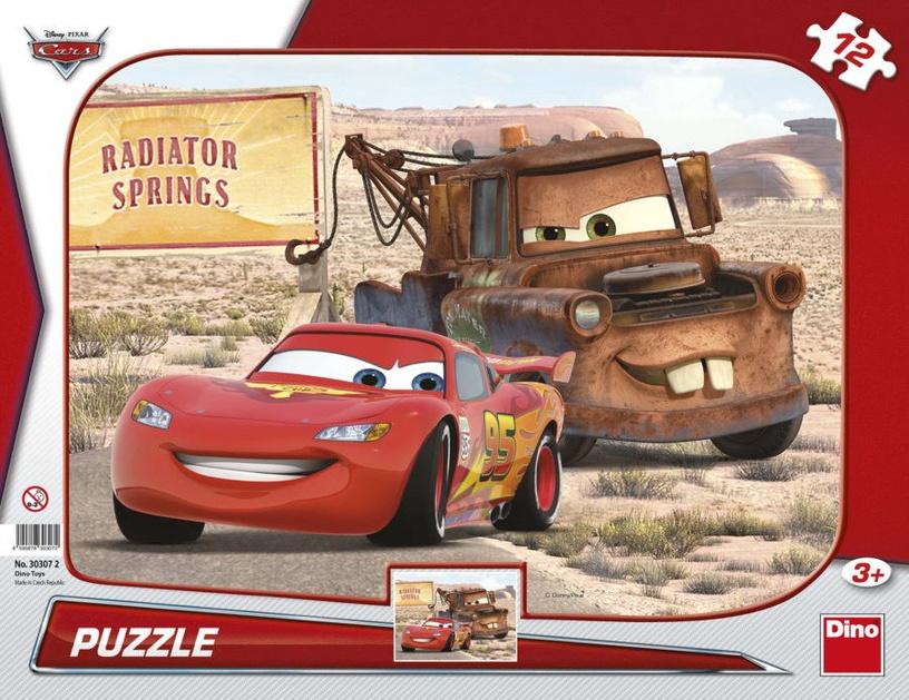 Dino Puzzle 12 Cars