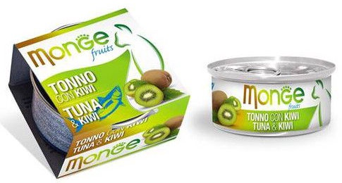 Monge Fruits Tuna & Kiwi 80g