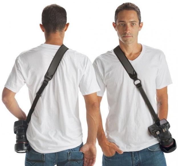 Fotocom Professional Double Sling Strap for DSLR Camera