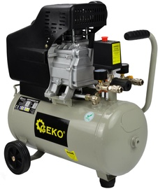 Geko G80300 Oil Compressor 24l 8bar 210l/min