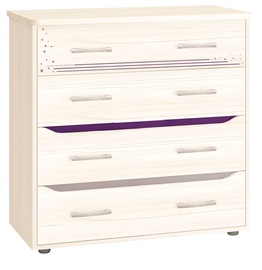 DaVita Megapolis 55.09 Chest Of Drawers Astrid Pine