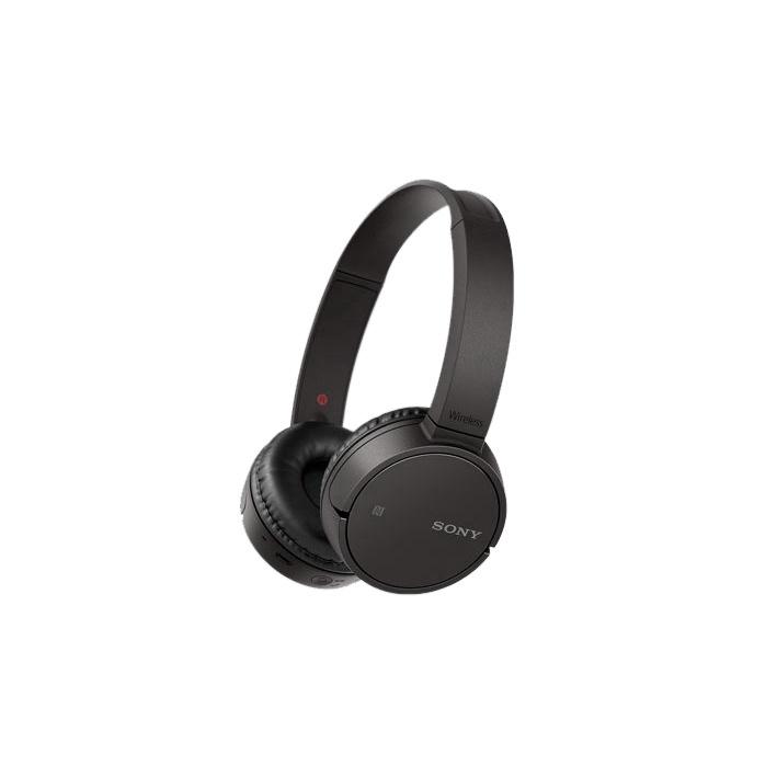 Austiņas Sony WHCH500B Black, bezvadu