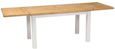 Pusdienu galds Signal Meble Poprad II Honey Brown/Pine, 1400x500x800 mm