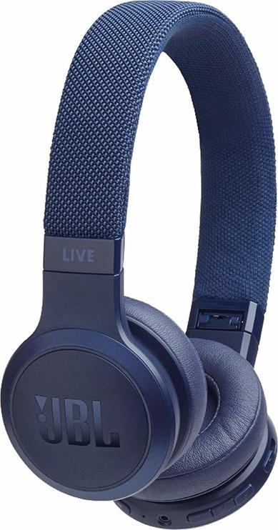 Austiņas JBL Live 400BT Blue, bezvadu