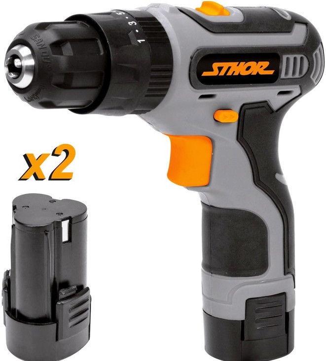 Vorel Sthor Cordless Screwdriver 2x10.8V Batteries