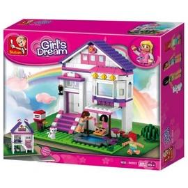 Sluban Girls Dream Holiday Home 291pcs M38-B0532