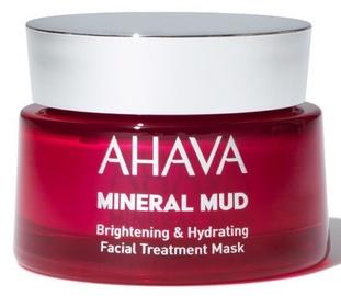 Sejas maska Ahava Mineral Mud Brightening & Hydrating Facial Mask, 50 ml