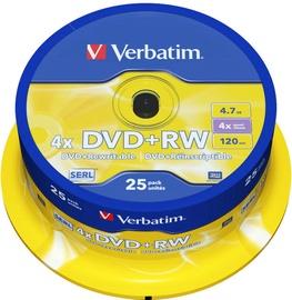 Verbatim 25x DVD+RW 4.7GB 43489