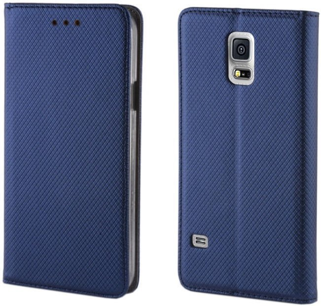 Forever Smart Magnetic Book Case For Huawei P10 Dark Blue
