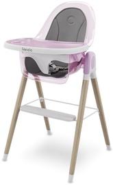 Barošanas krēsls Lionelo Maya, rozā