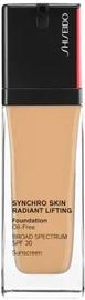 Tonizējošais krēms Shiseido Synchro Skin 340 Oak, 30 ml