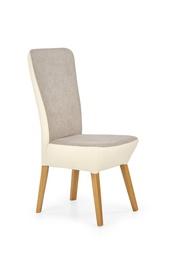 Ēdamistabas krēsls Halmar Orchid Honey Oak/Light Beige