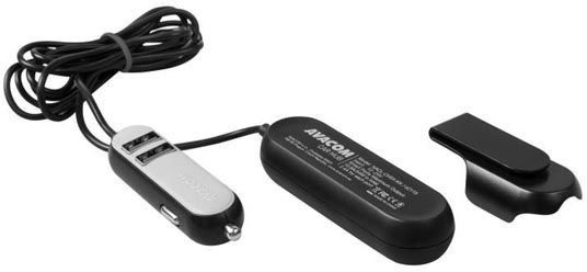 Avacom Carhub 5x USB Car Charger Black/Grey