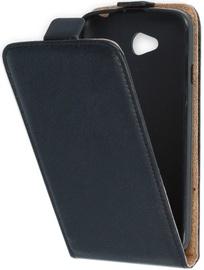 Mocco Vertical Leather Case For Samsung Galaxy J3 J330 Black