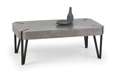 Kafijas galdiņš Halmar Emily Concrete/Black, 1100x600x420 mm