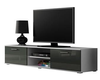 ТВ стол Cama Meble Soho 180, белый/серый, 1800x430x370 мм