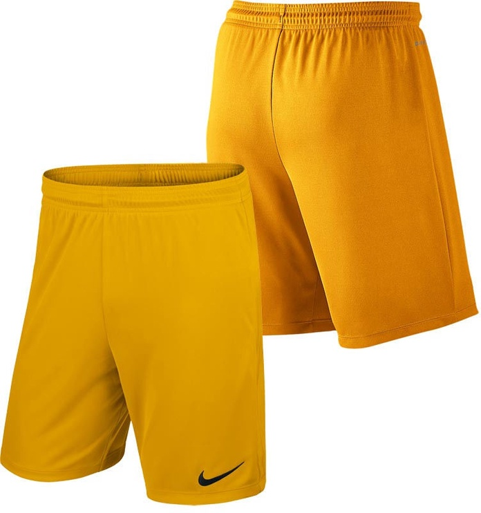 Nike Junior Shorts Park II Knit NB 725988 739 Yellow M