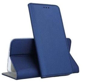 Mocco Smart Magnet Book Case For Samsung Galaxy A12 Blue