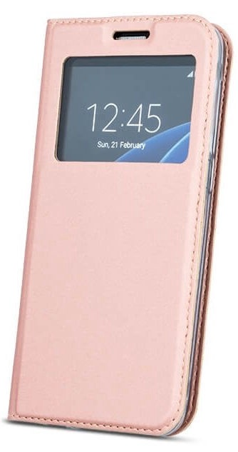 Mocco Smart Look Magnet Book Case For Huawei Mate 20 Lite Rose Gold